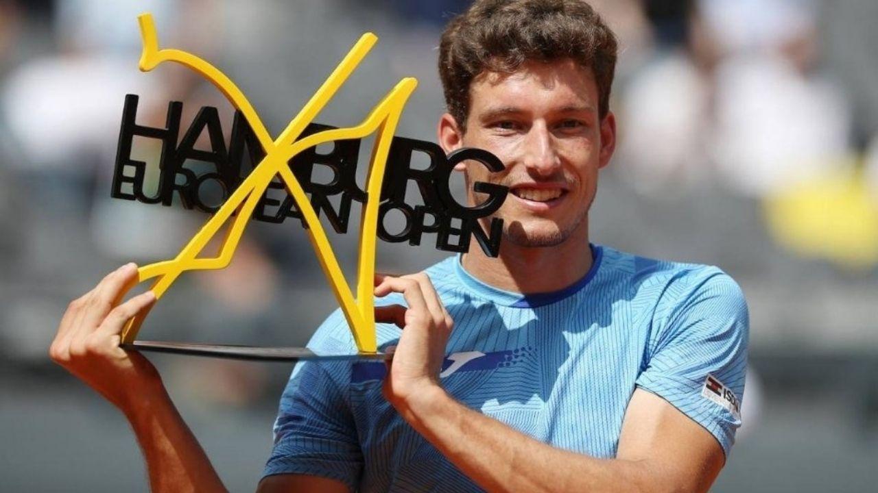 El asturiano Pablo Carreño, ganador del Torneo de Hamburgo