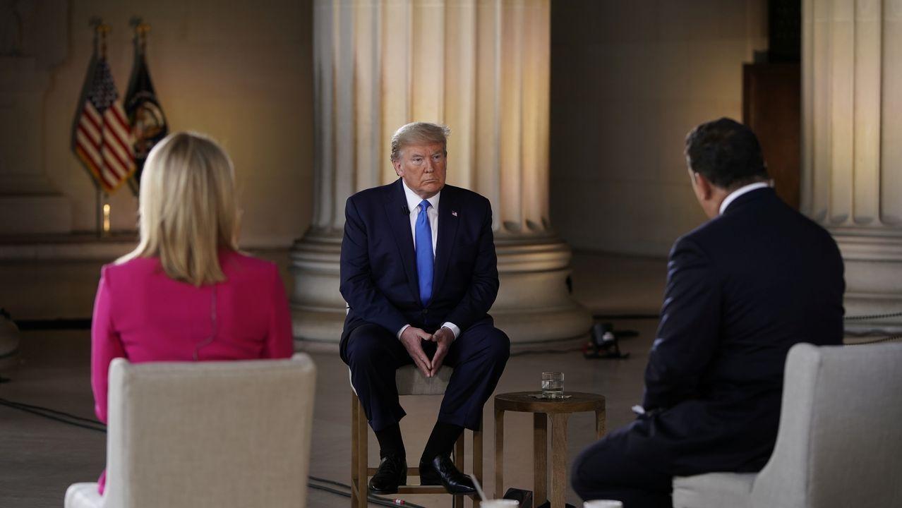 Trump respondió a las preguntas de los expectadores de un programa especial de 'Fox News'