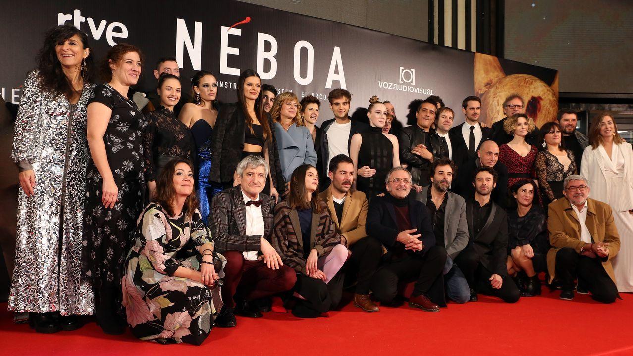 En directo: preestreno de Néboa.Eduard Fernández (como Millán Astray) y Santi Prego (como Franco) están entre los favoritos de los actores consultados
