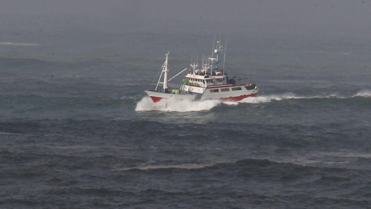 Un pesquero de Gran Son que opera en el puerto mariñano de Celeiro, en una foto de archivo