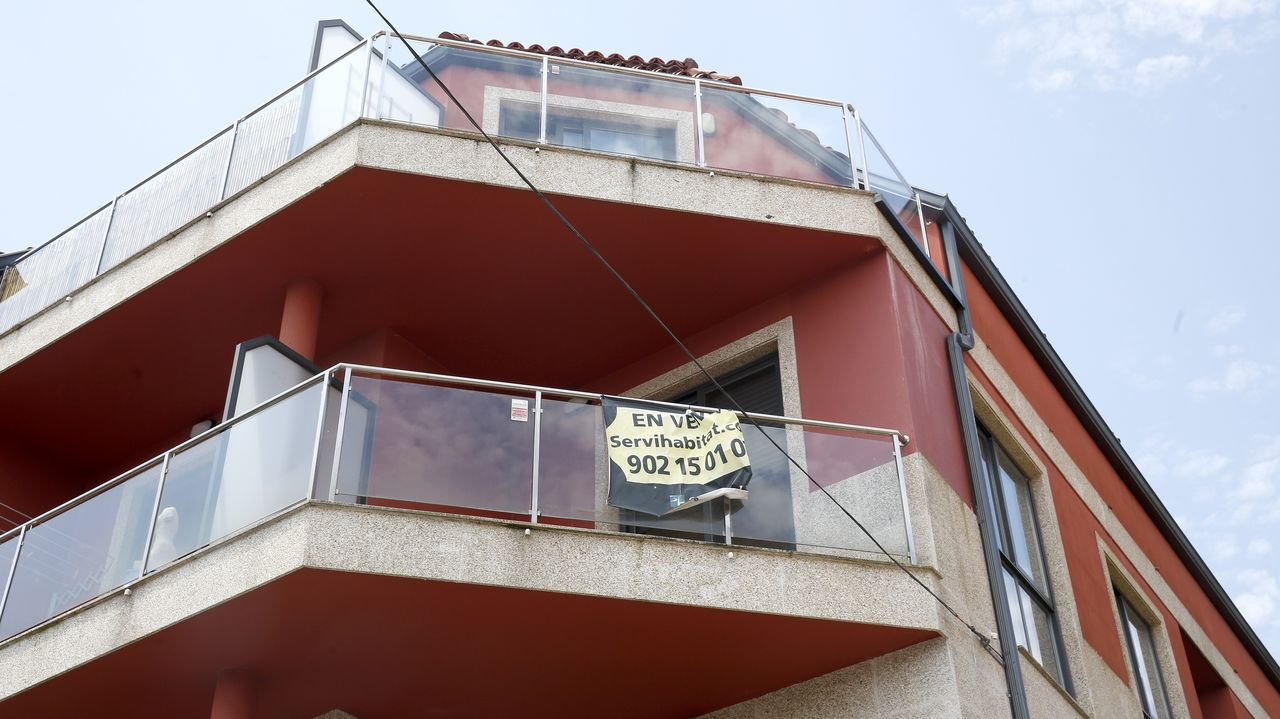 En esta promoción de pisos de Escarabote hay una docena de viviendas en venta