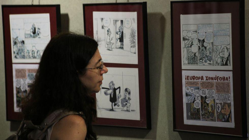 Cangas, más allá de Tintín.José Manuel Villegas, en una imagen de archivo
