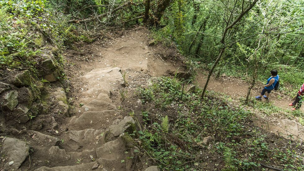 Otro trecho del camino que conduce hasta la cascada
