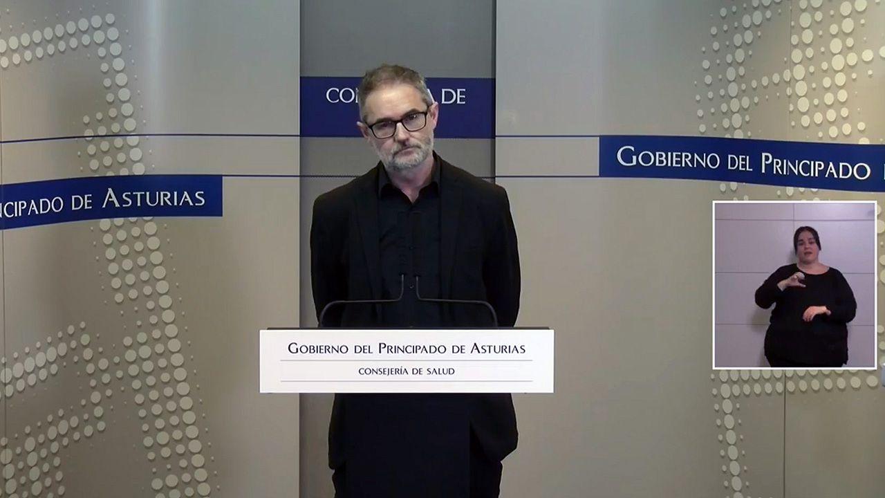 El director general de Salud Pública Rafael Cofiño