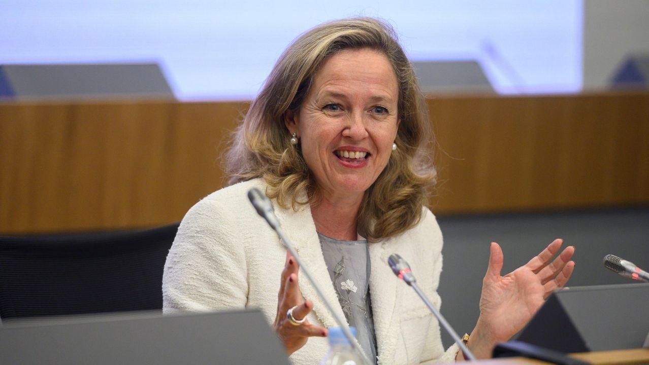 La presidenta del Parlamento Europeo, Ursula von der Leyen, el pasado 13 de mayo