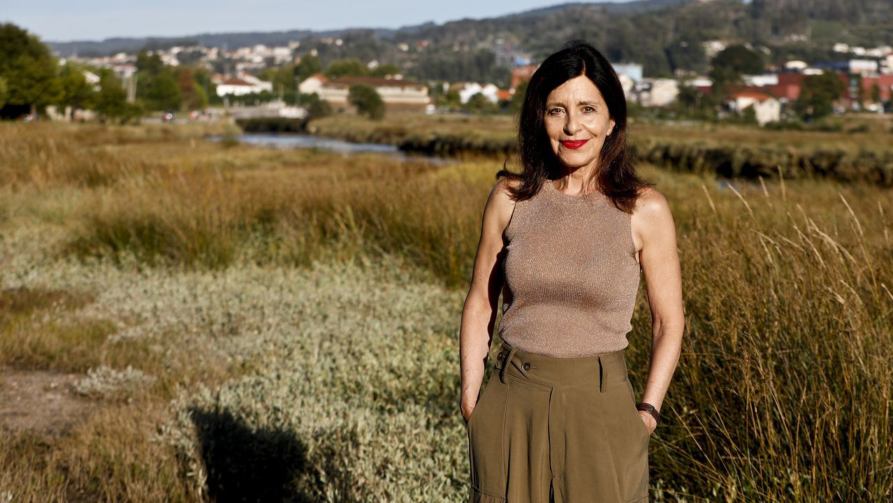 Cristina Losada, candidata de Ciudadanos a la Xunta en el año 2016