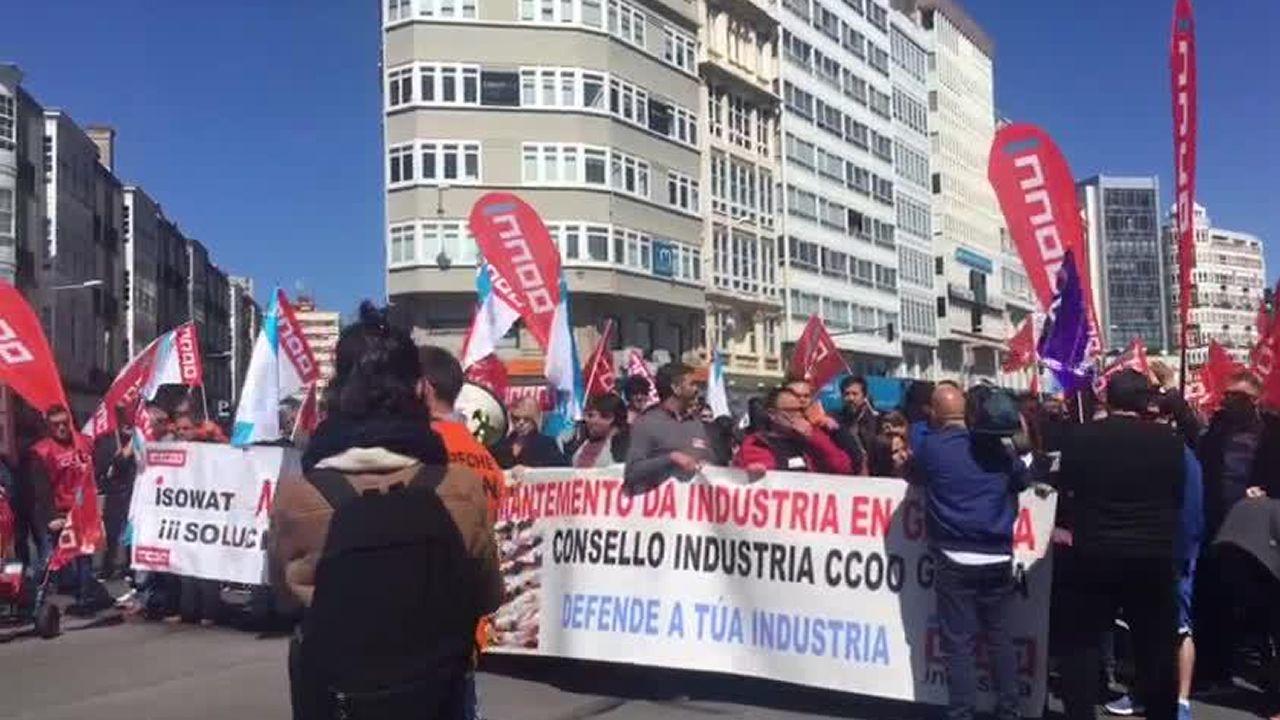 La industria coruñesa exige entrar en los programas electorales.Los cinco candidatos