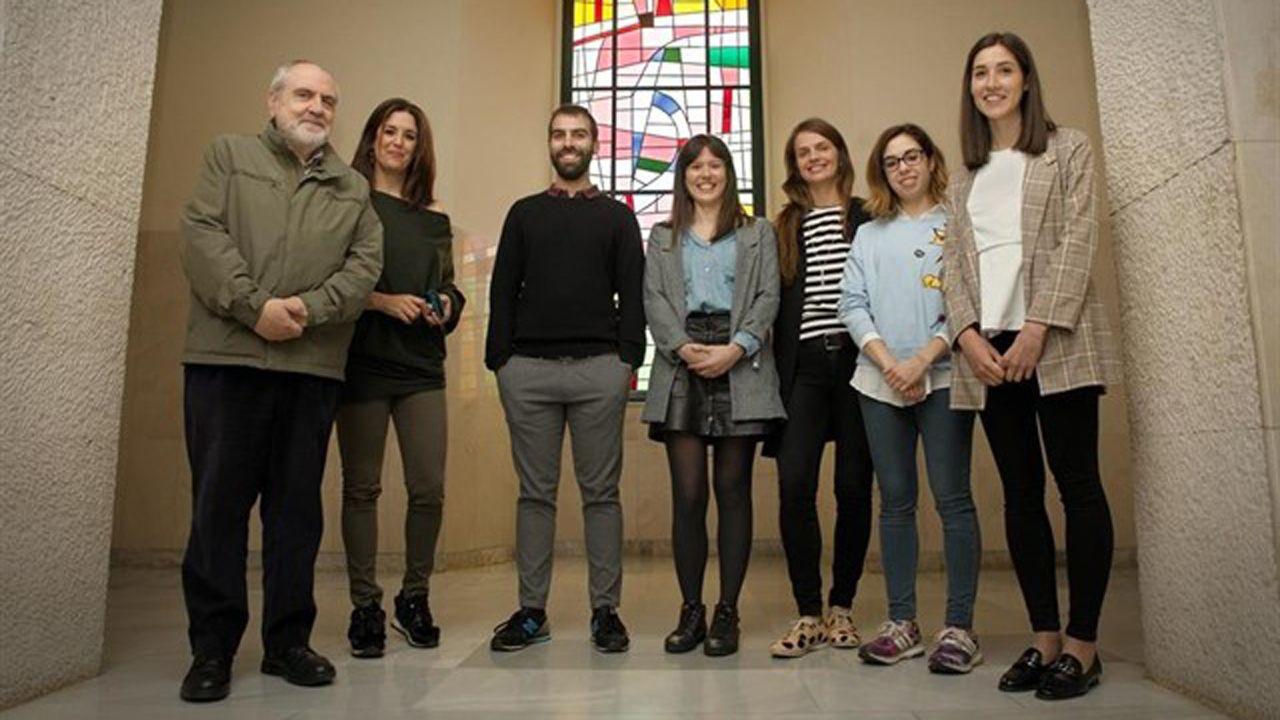 Miembros de la Unidad Clínica de Conductas Adictivas, ubicada en la Facultad de Psicología de la Universidad de Oviedo