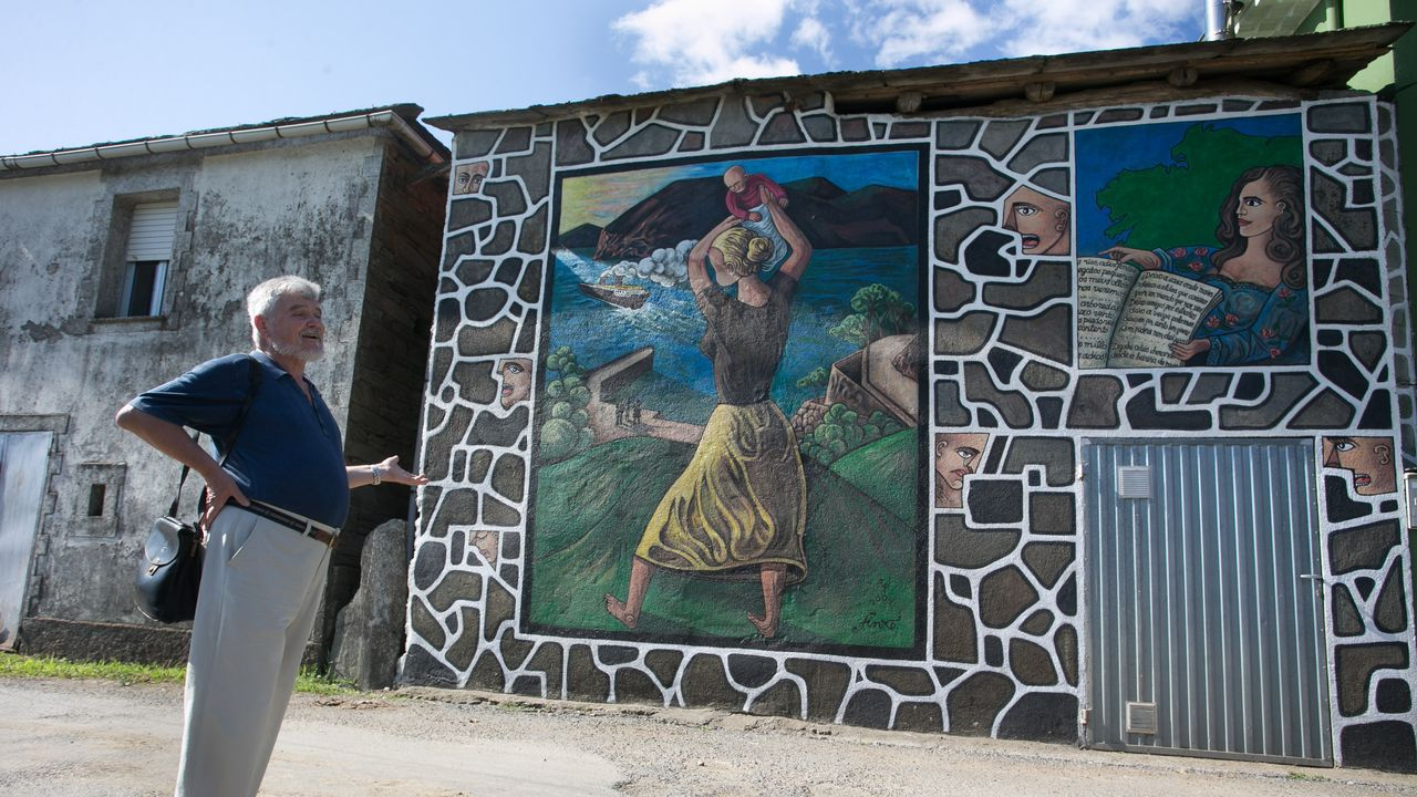 Monseiro tiene un museo único al aire libre