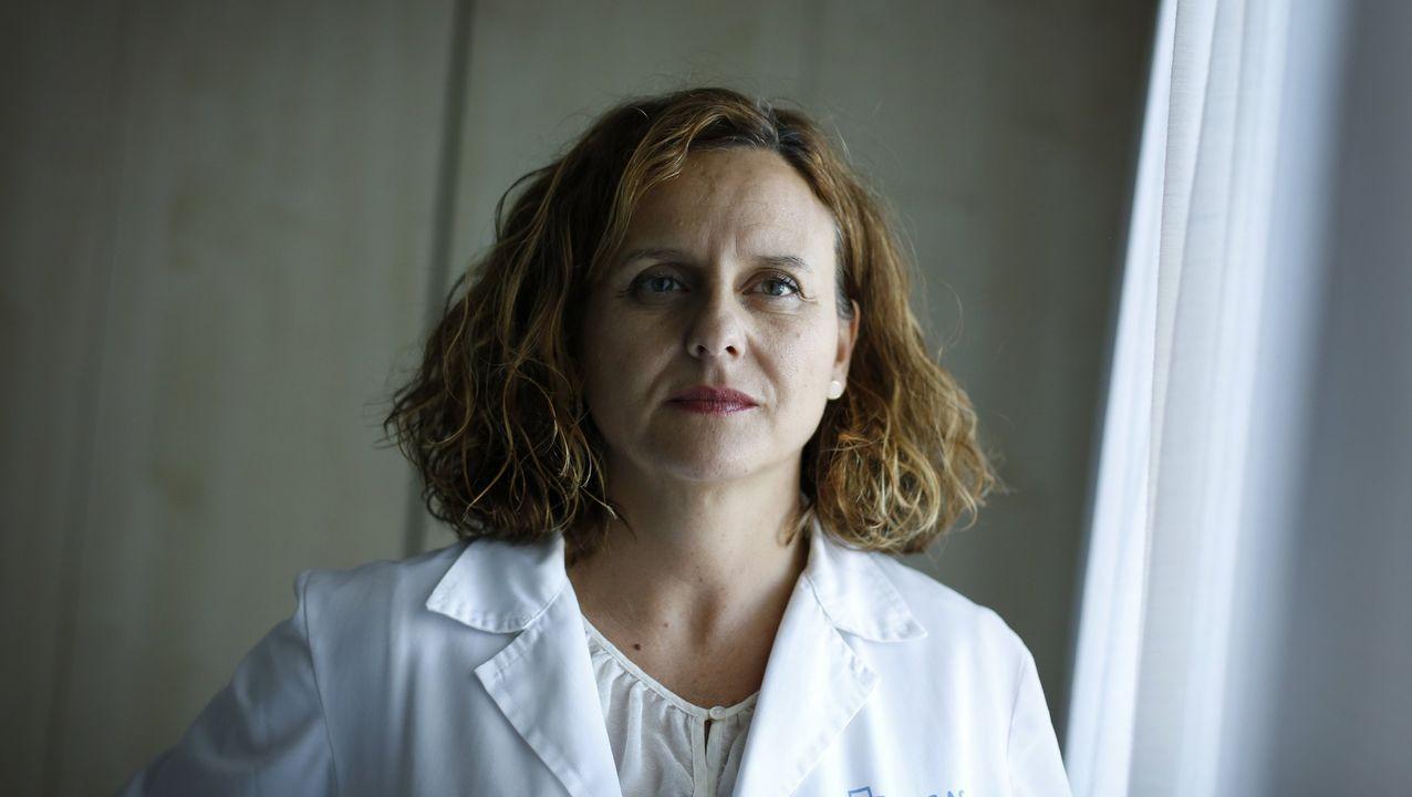 María Jose Pereira, jefa de Medicina Preventiva del Chuac