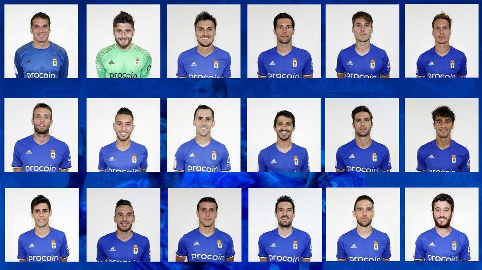 Los 18 convocados para el partido frente al Nástic