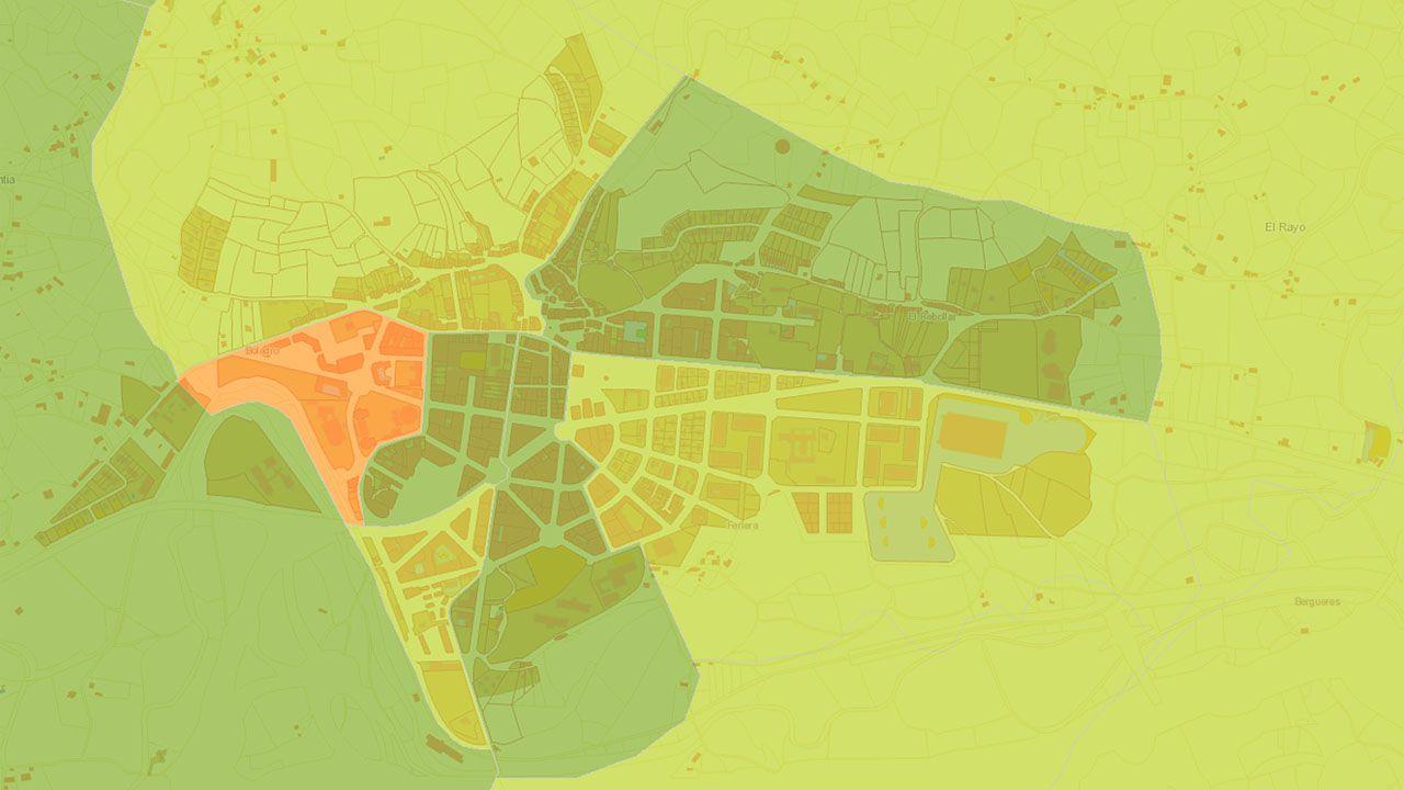 Atlas de Distribución de Renta de los Hogares en el área de Pola de Siero