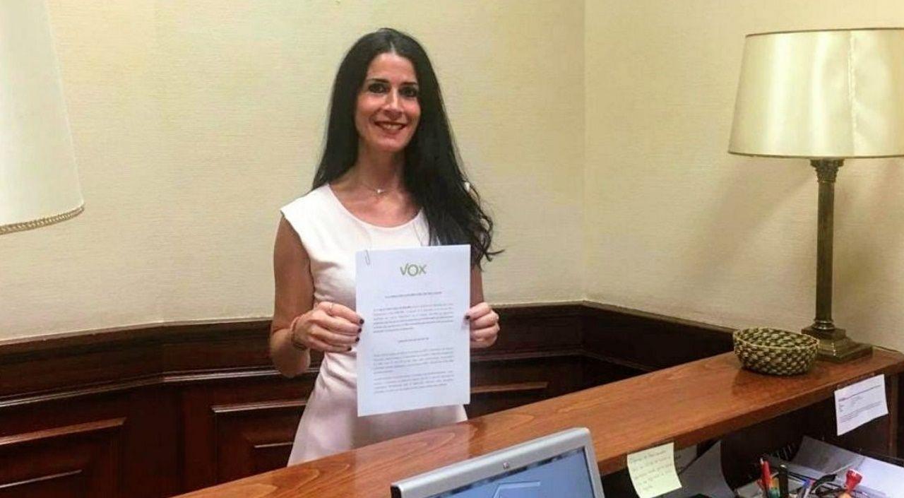 Carla Toscano, diputada de VOX