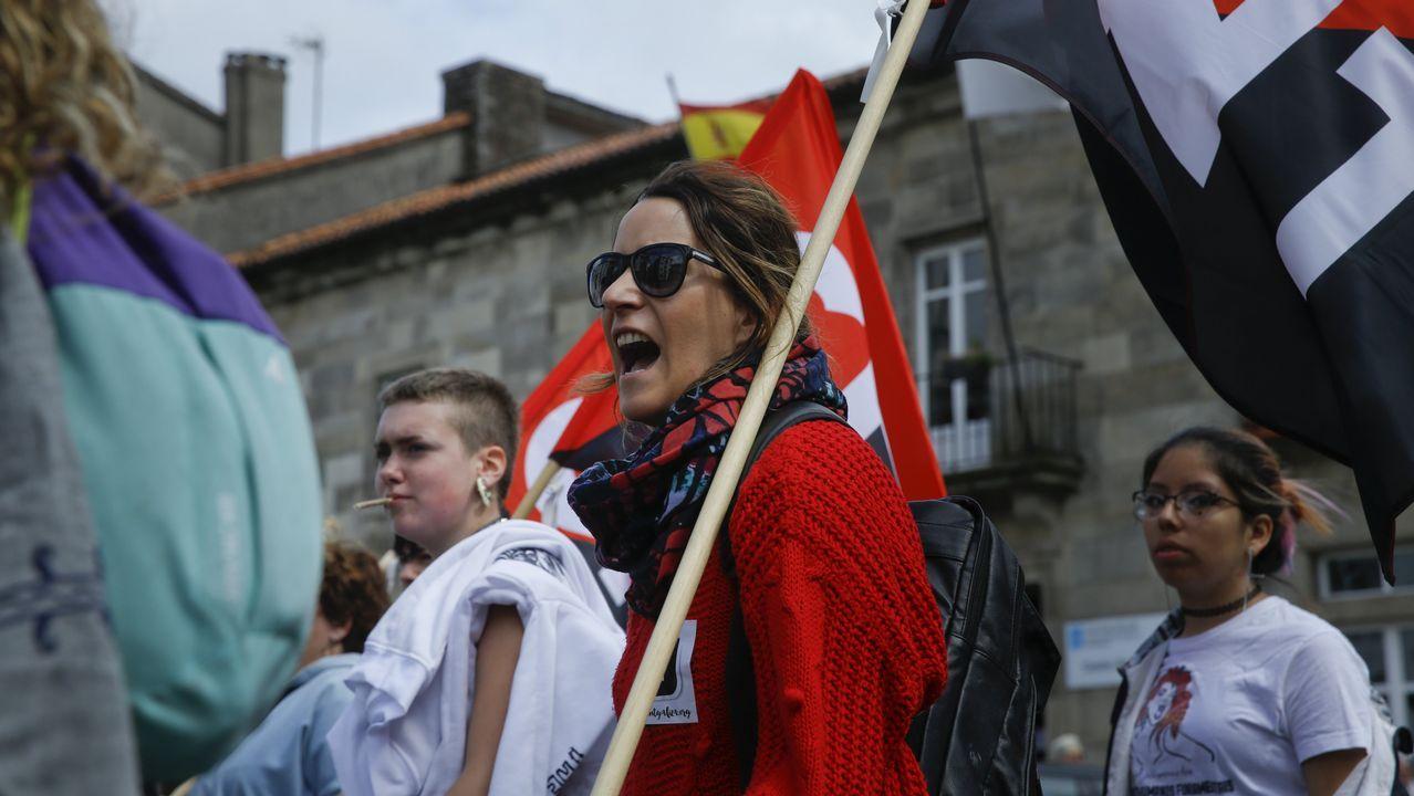 El Primero de Mayo en Compostela