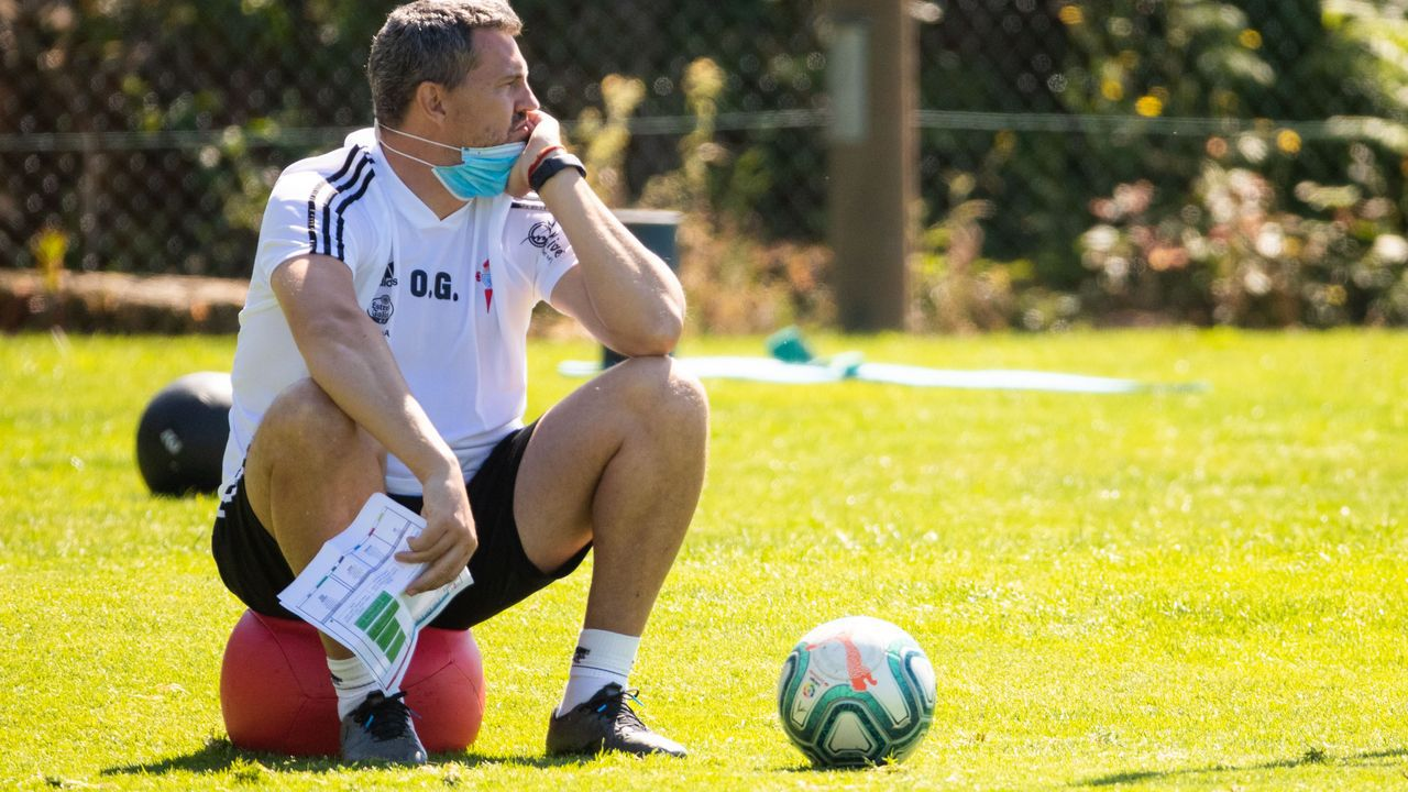 Óscar: «Tengo mucha confianza en los jugadores»