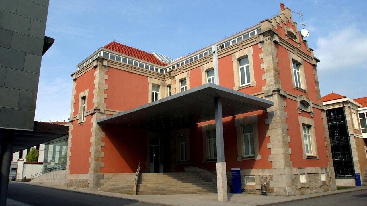 La ceremonia de entrega del premio tendrá lugar en el salón de actos del campus de Esteiro (en la imagen)