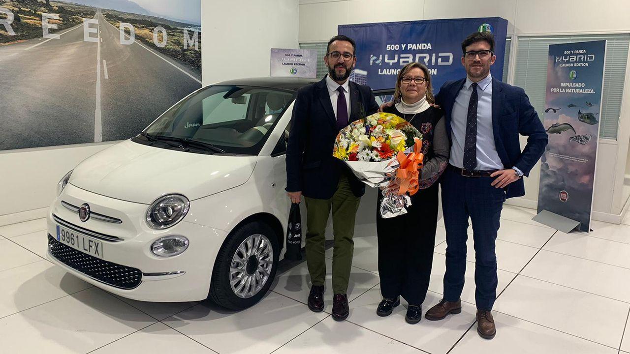 El concesionario Artedo Motor entrega el primer Fiat 500 eléctrico