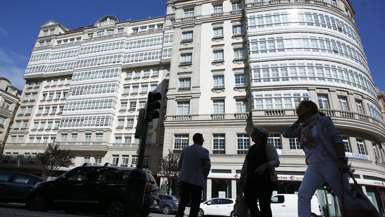 El edificio de Fernando Macias.