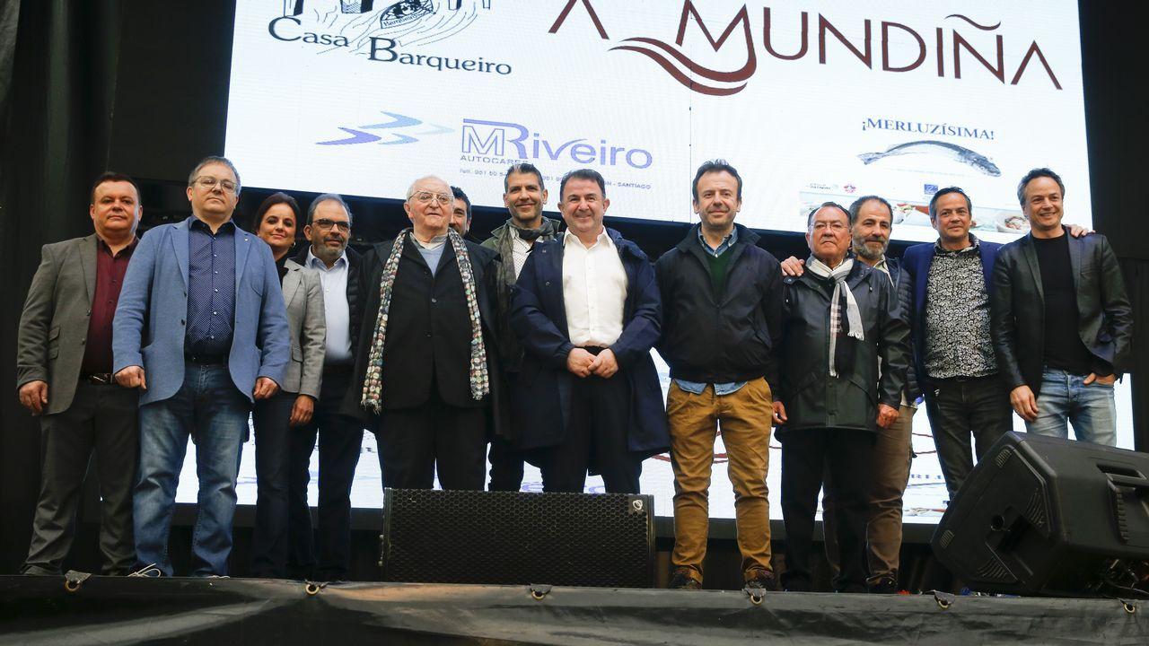 29 estrellas Michelin en Negreira.Los concursantes de Masterchef 7 durante la quinta prueba de exteriores