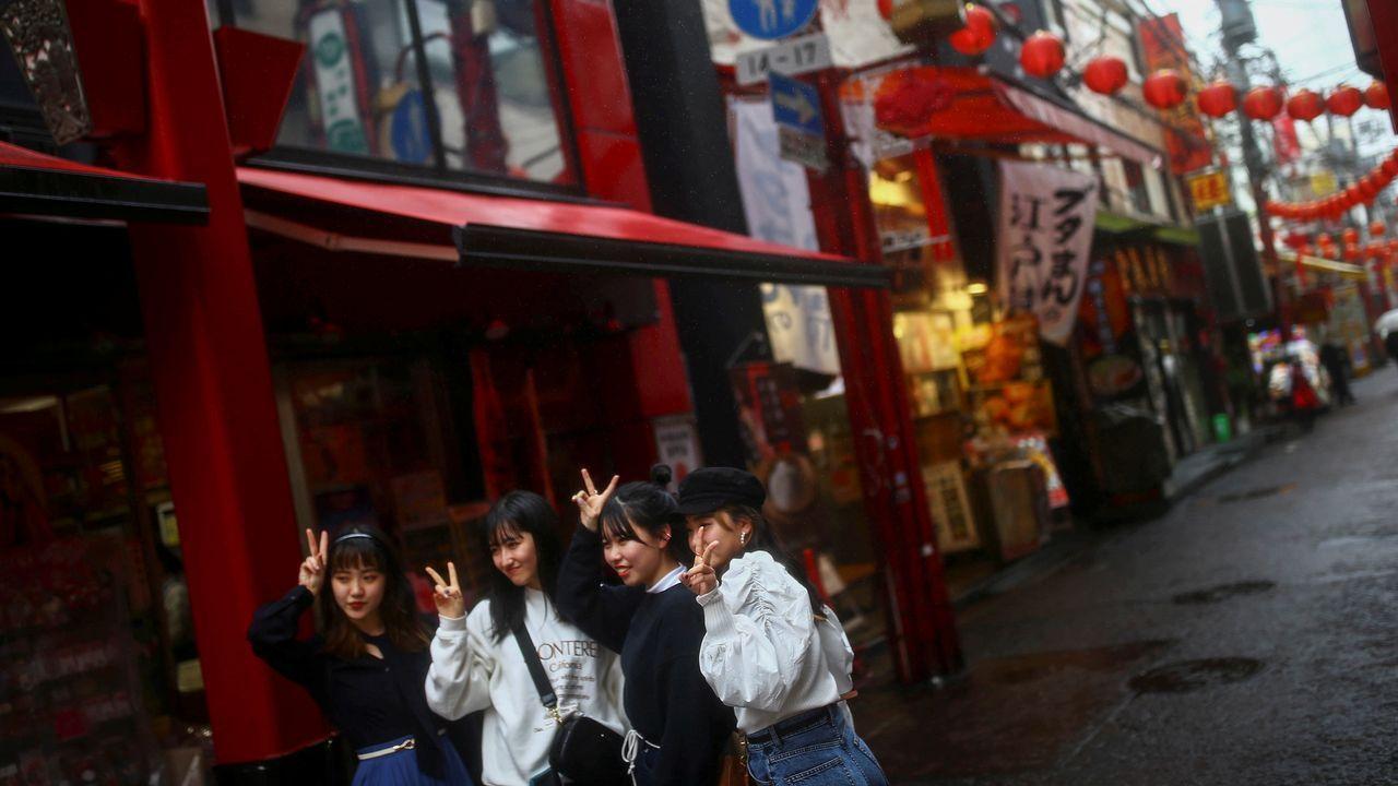 Chinatown de Yokohama, en el sur de Tokio.