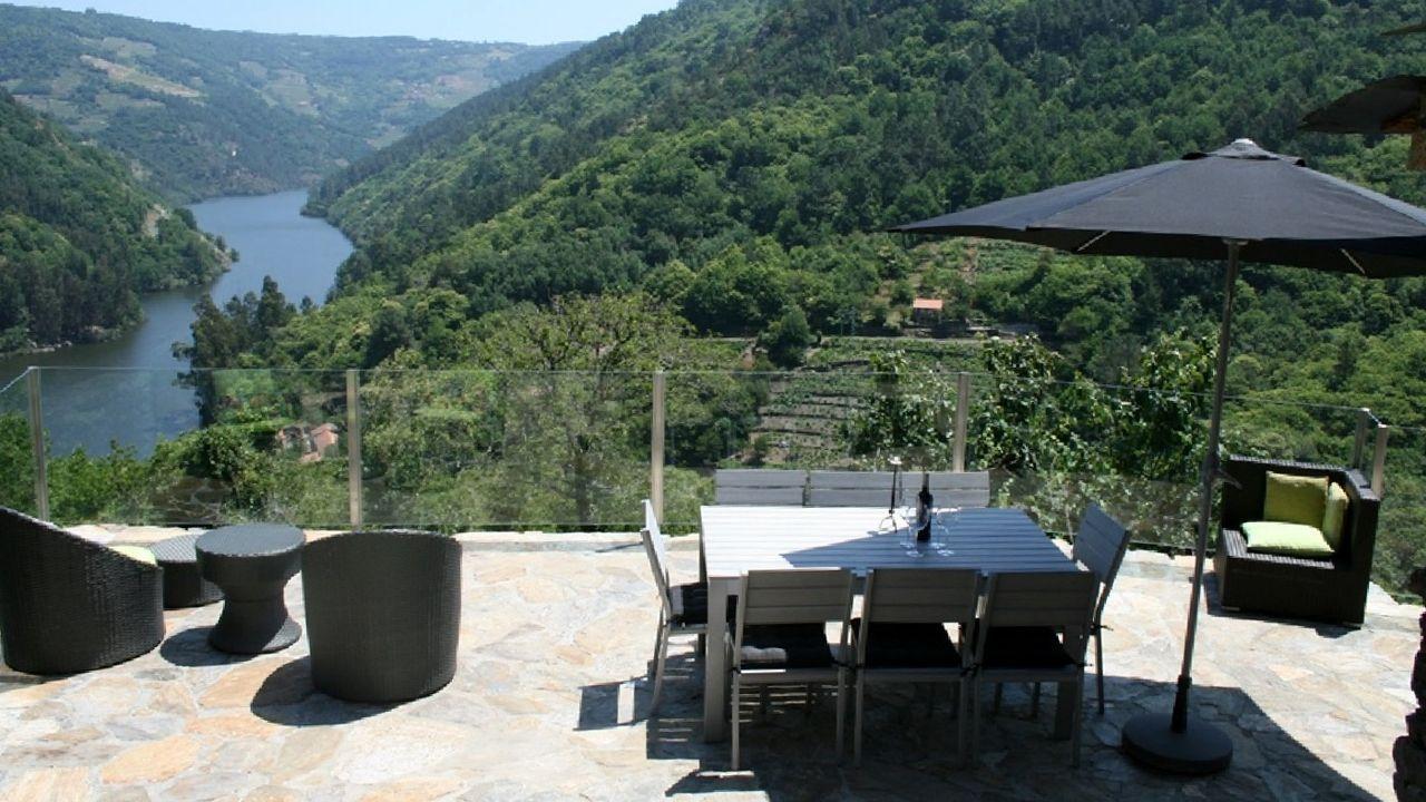 La casa de turismo rural Cabo do Mundo en Chantada es una de las adheridas a la tarjeta turística de la Xunta