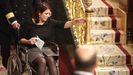 Adriana Lastra, en silla de ruedas
