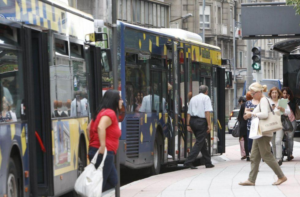 El contrato del autobús, en manos de Urbanos de Ourense, concluyó en el mes de mayo.
