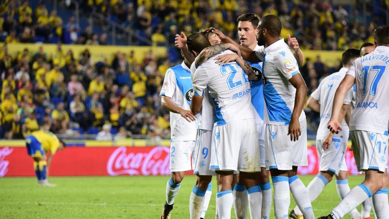 Las mejores imágenes del Las Palmas - Deportivo