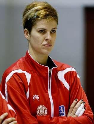 Rebeca Kruse cumplió cuatro campañas en A Pinguela.