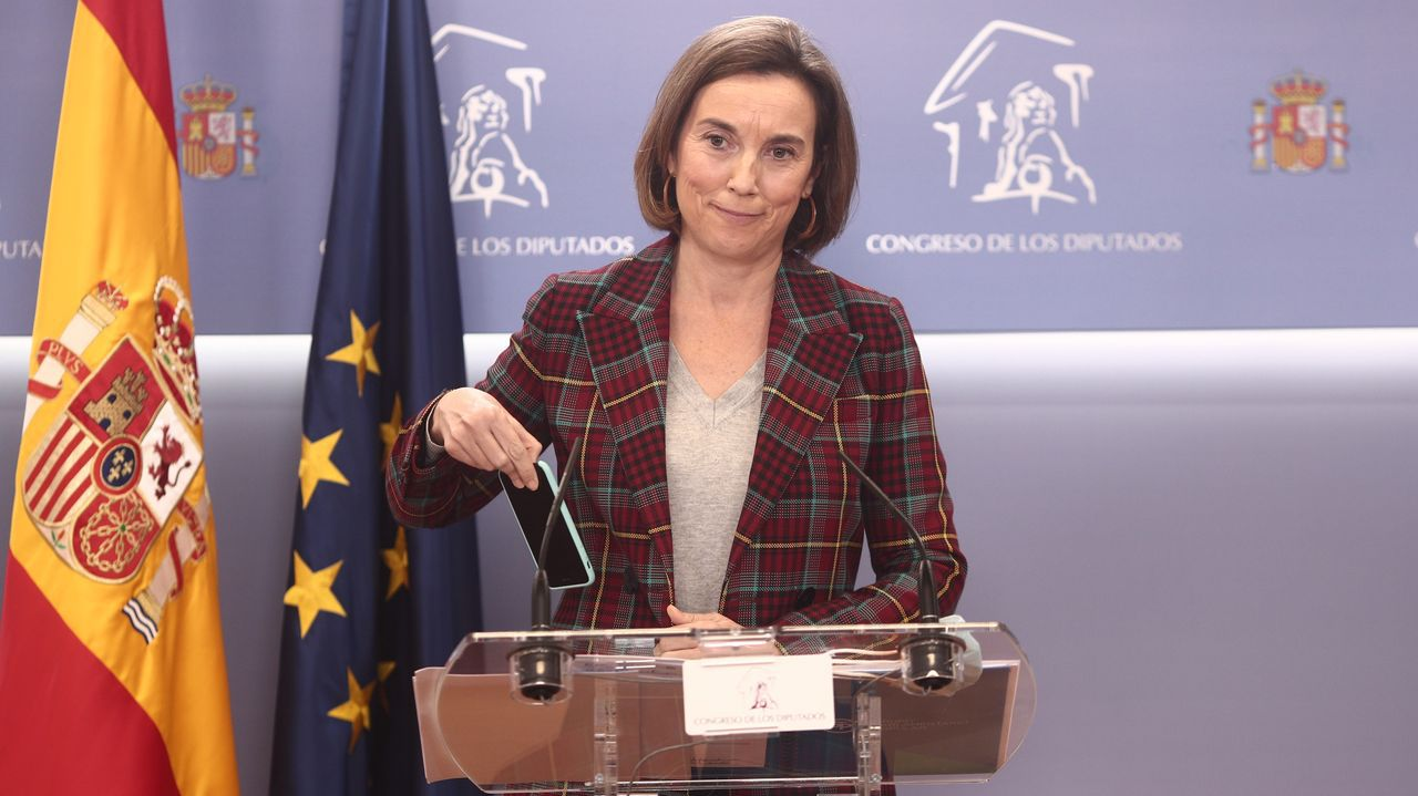La portavoz del PP en el Congreso, Cuca Gamarra
