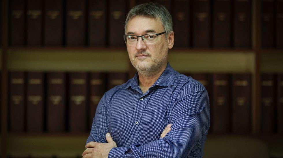 La puesta a punto de Manzaneda.Fernando Jiménez es el presidente de ACCU en Ourense