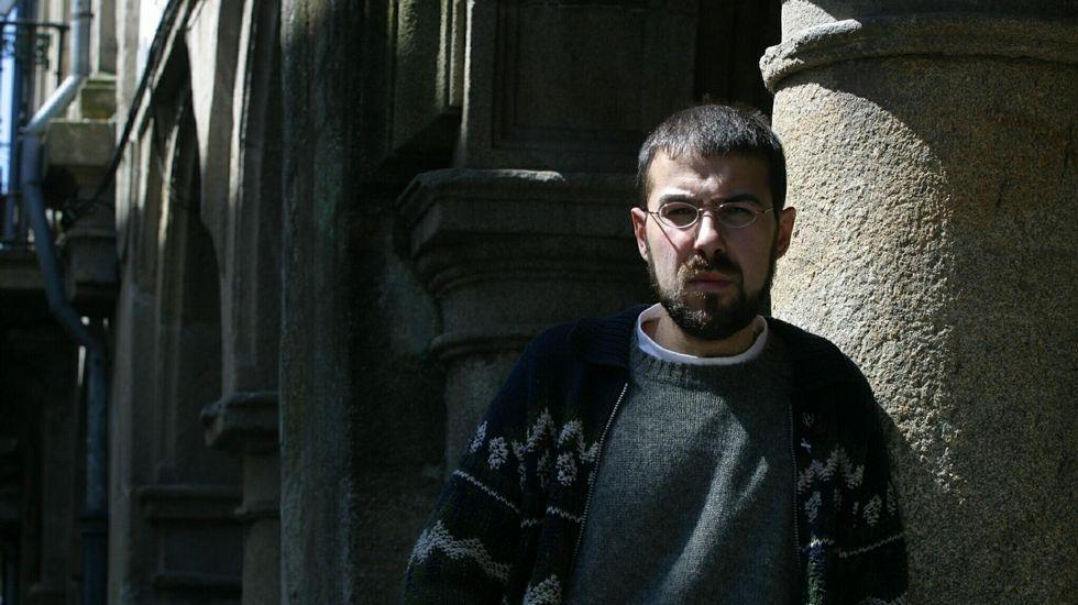 Ramiro Santalices en una imagen de archivo del 2003, cuando fue candidato a las elecciones municipales en Santiago