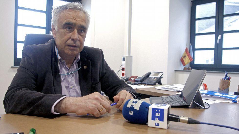 José Ángel Pérez, alcalde de Castropol