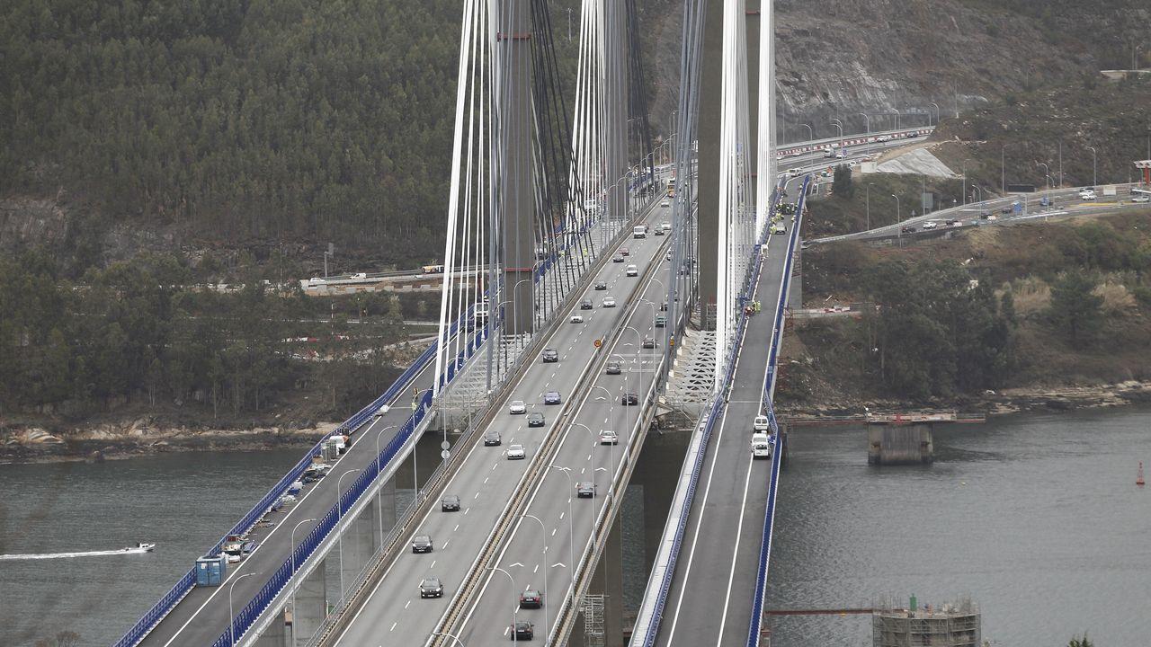 La ampliación de Rande permitirá al puente gestionar hasta 95.000 vehículos cada día