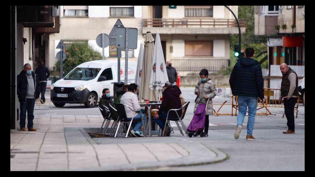 Vuelven las terrazas a Vilagarcía
