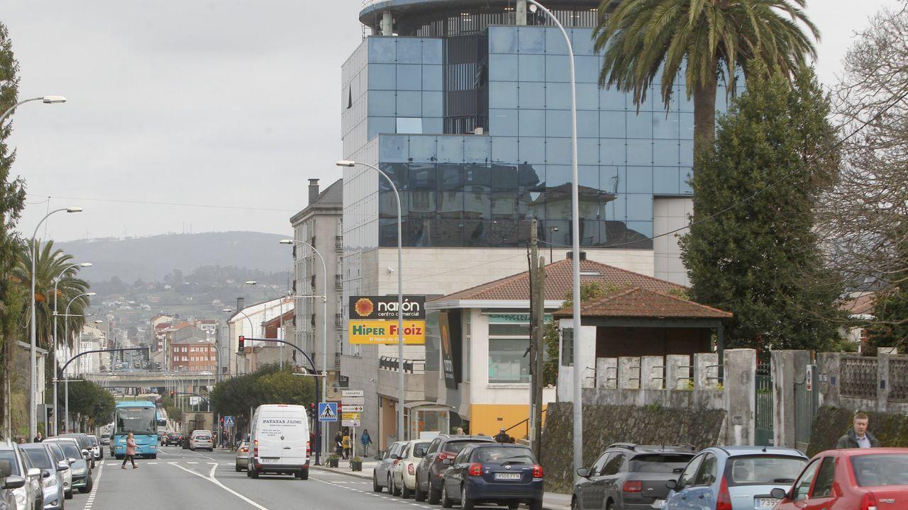 Imagen de archivo de un botellón en la zona de Pardo Bajo, en Ferrol