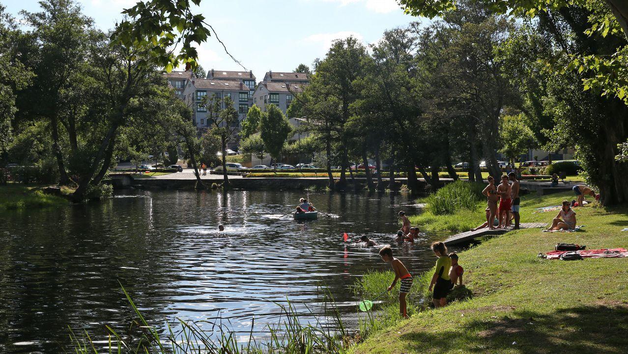 El Arnoia. En Allariz, O Arnado y Acearrica disponen de espacios verdes a la orilla del río