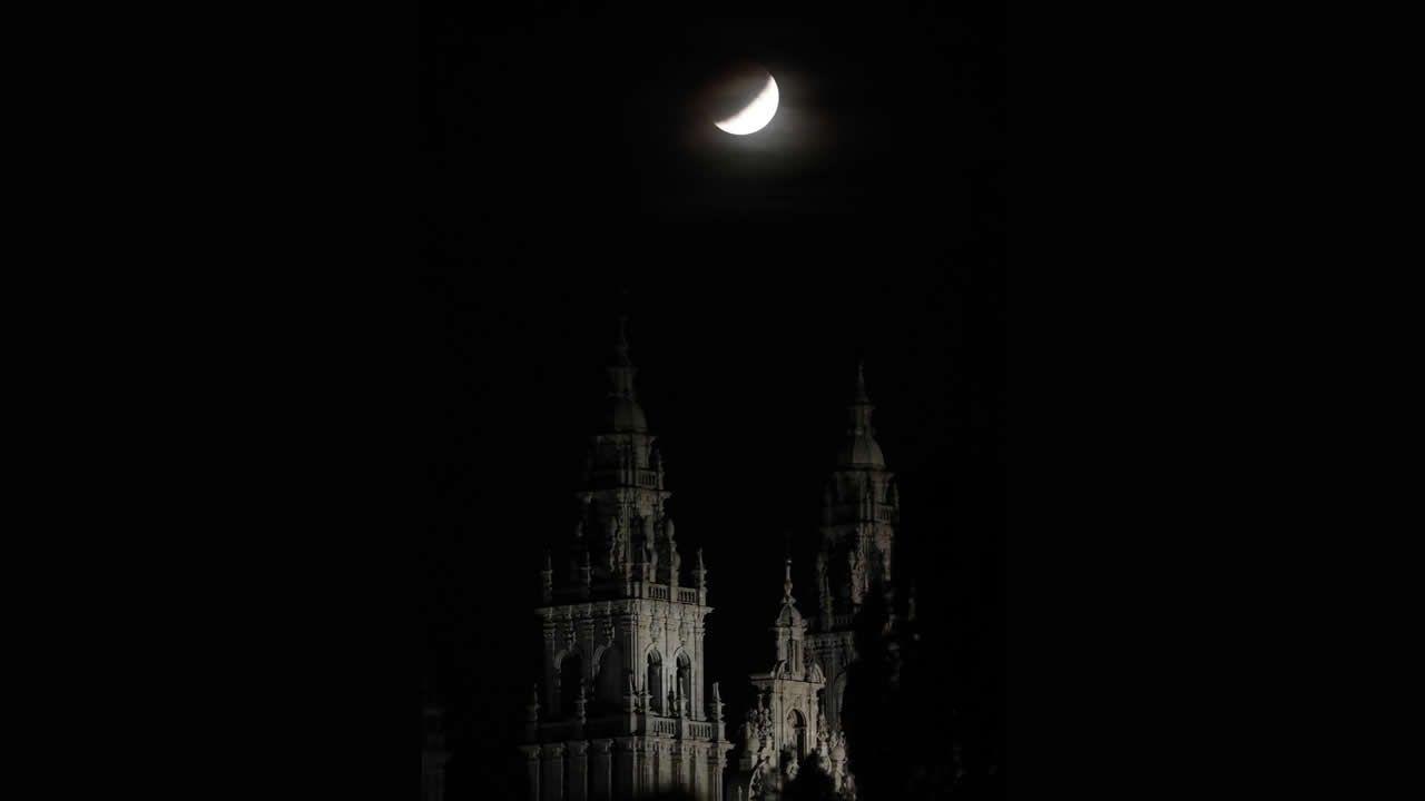 El eclipse parcial, visto desde distintos puntos del mundo