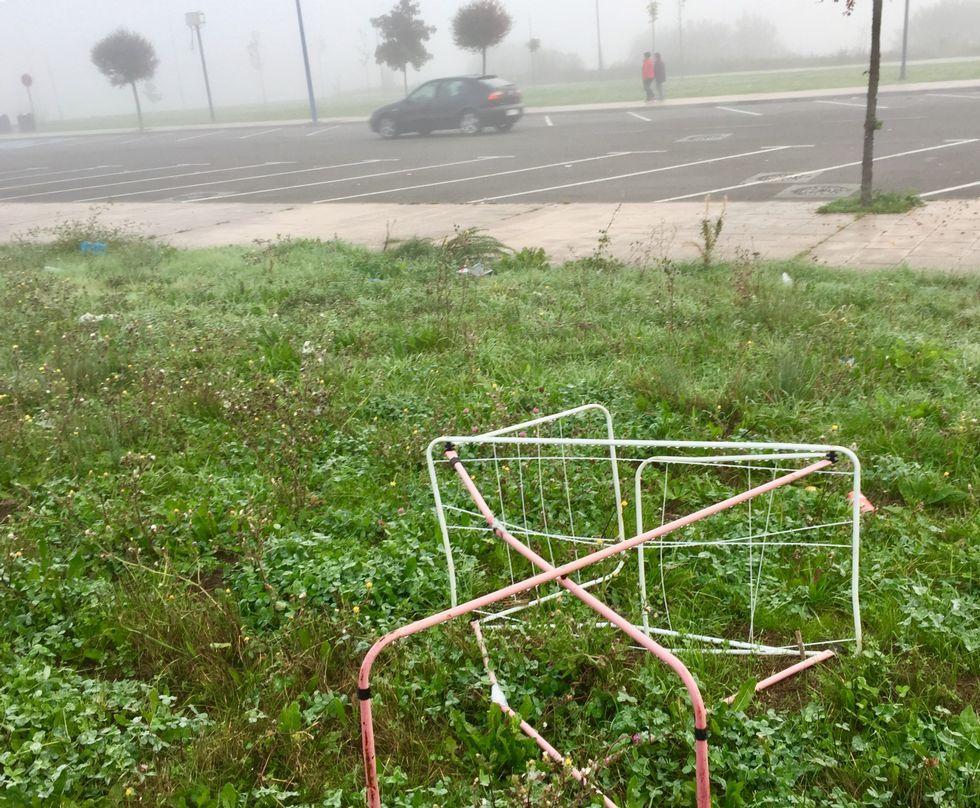 Riesgos para peatones en Infanta Elena