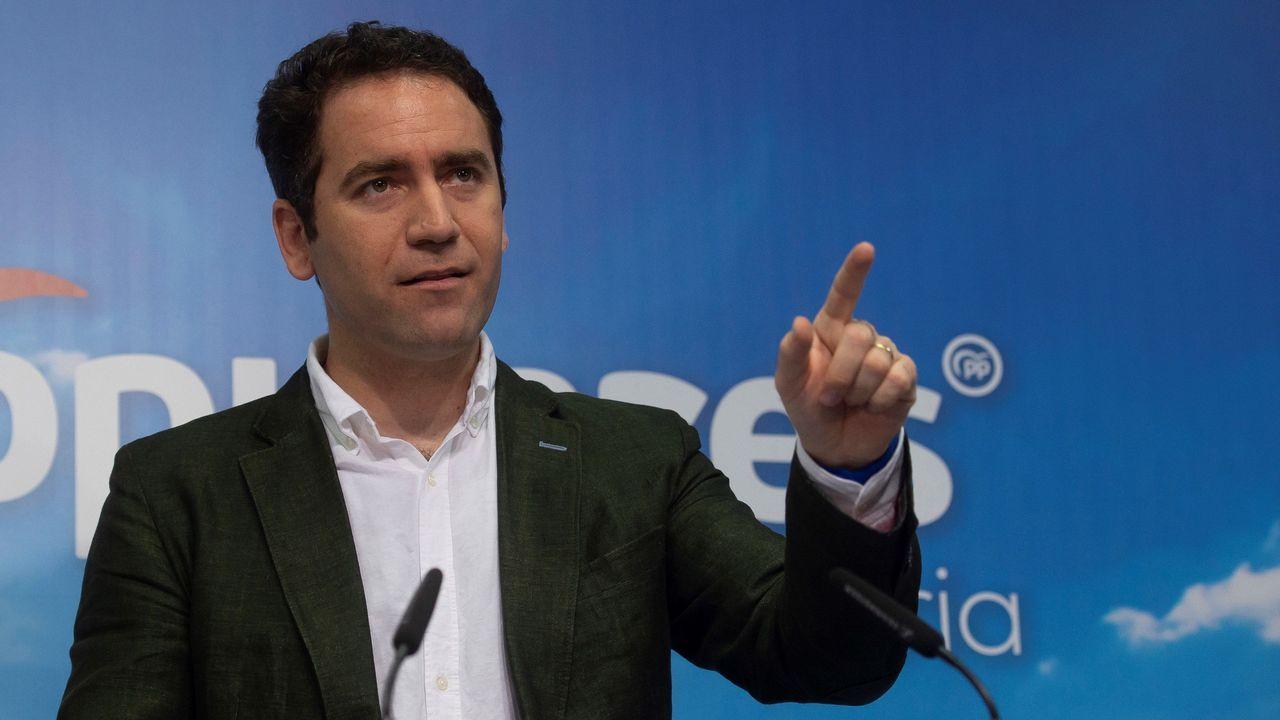 El secretario general del PP, Teodoro García Egea, dirigirá la campaña de los populares