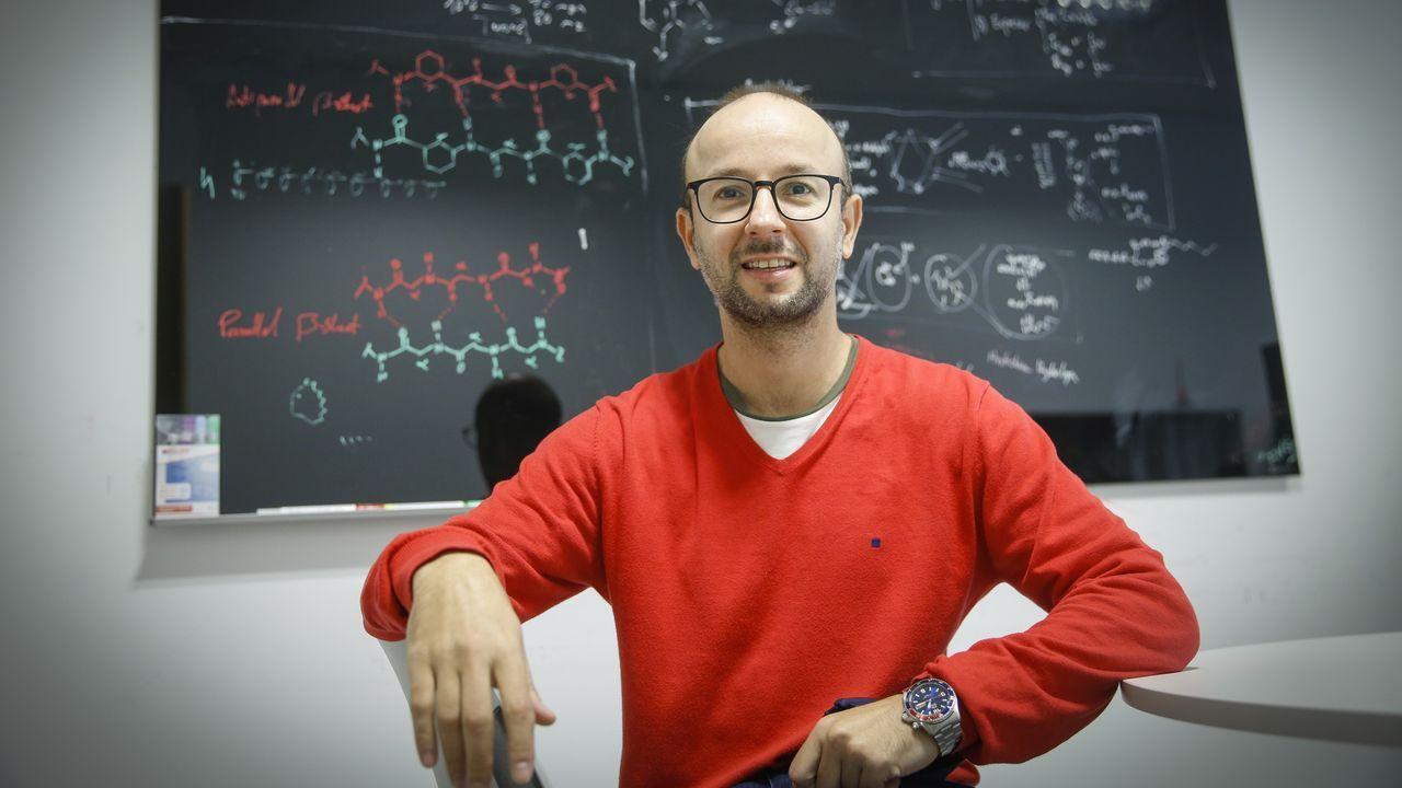 Javier Montenegro, investigador del CIQUS