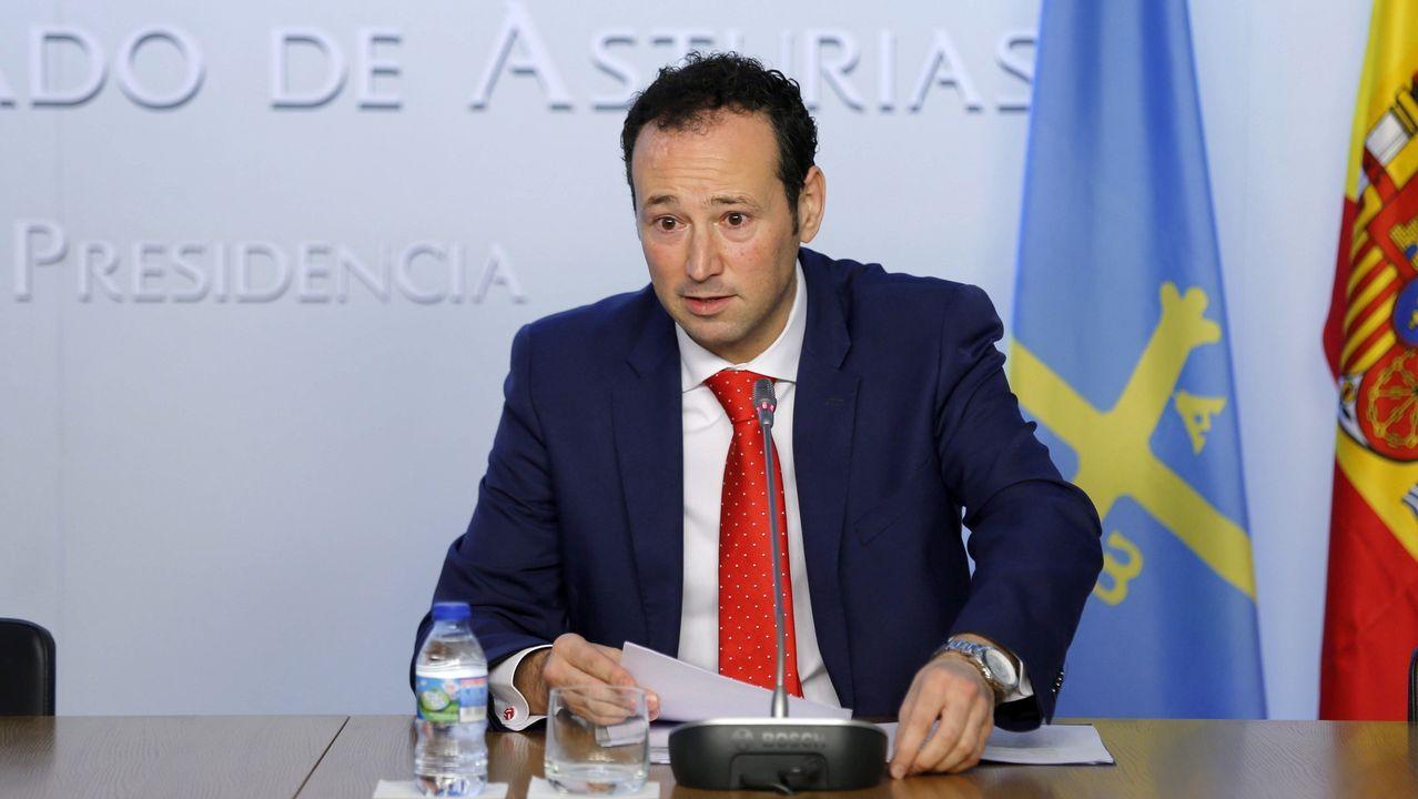 Sanidad tardó cinco días en certificar que un lote de mascarillas era defectuoso.El portavoz del Gobierno asturiano, Guillermo Martínez