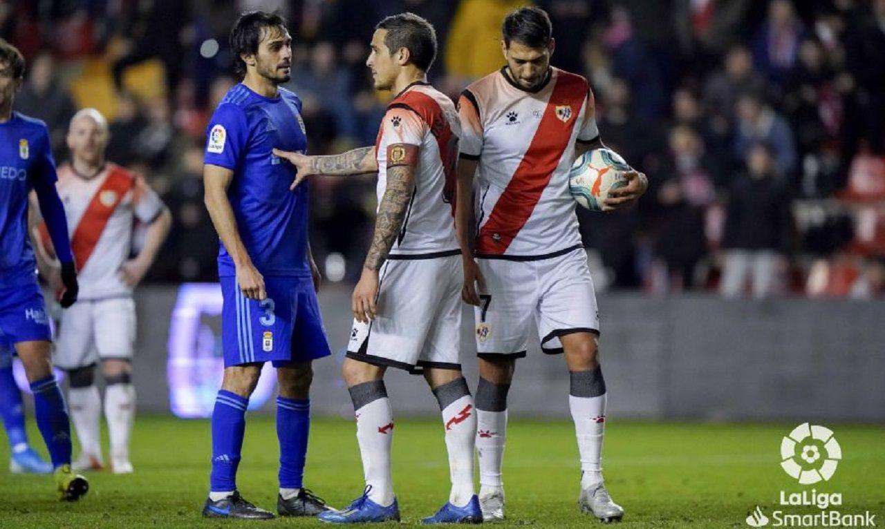 Alineación del Real Oviedo ante el Rayo