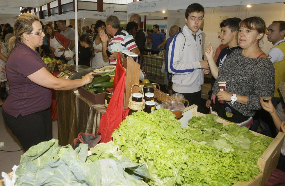 Inauguración de las XornadasTécnicas de Expomar.Burela es bonito y además es artesanía y ecología.