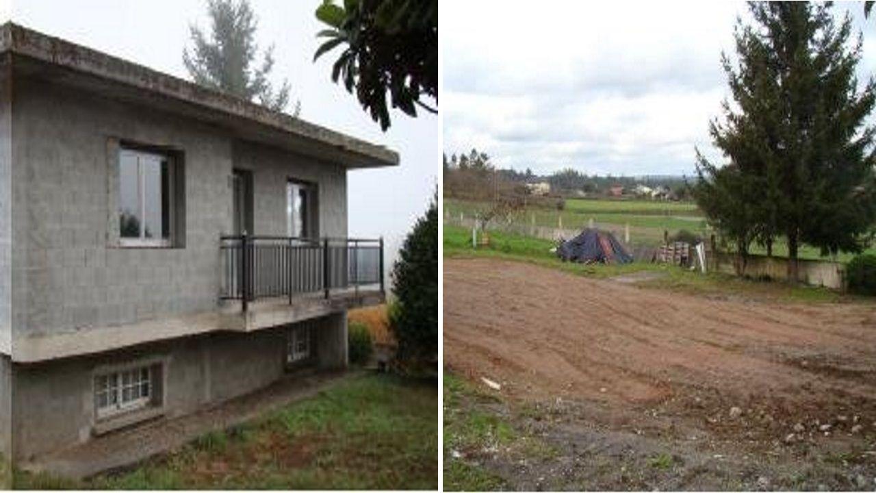 Esta casa construida en suelo no urbanizable en Vila de Cruces fue derribada en febrero del 2018.