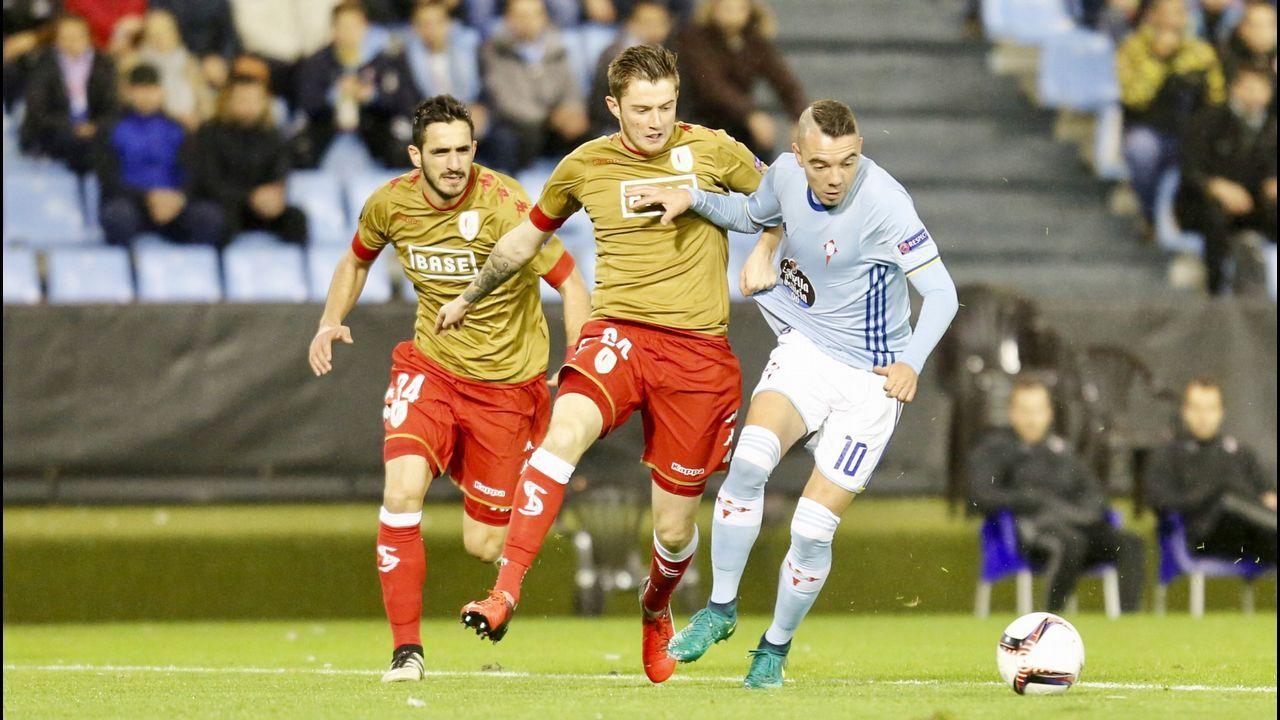208 - Celta-Standard (1-1) de Europa League el 24 de noviembre del 2016