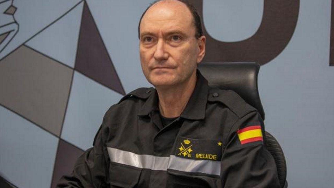El teniente general Luis Manuel Martínez Meijide