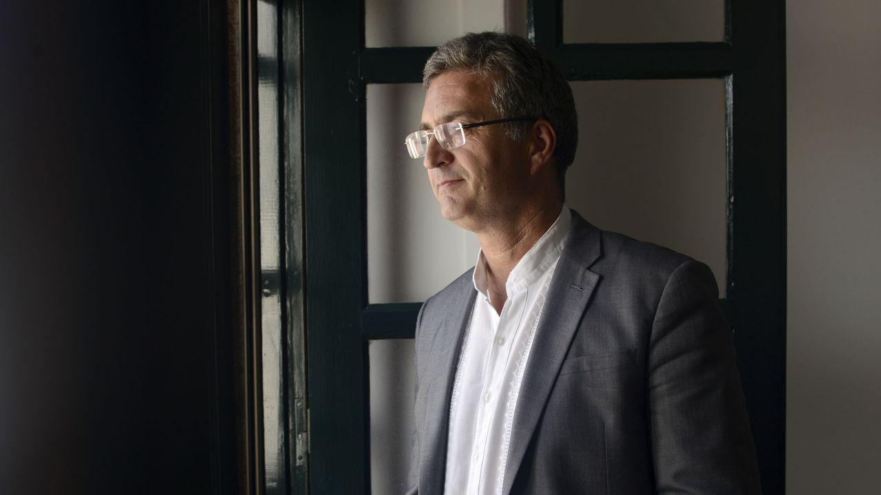 Imagen de archivo del autor del libro, Xosé Manuel Domínguez Prieto