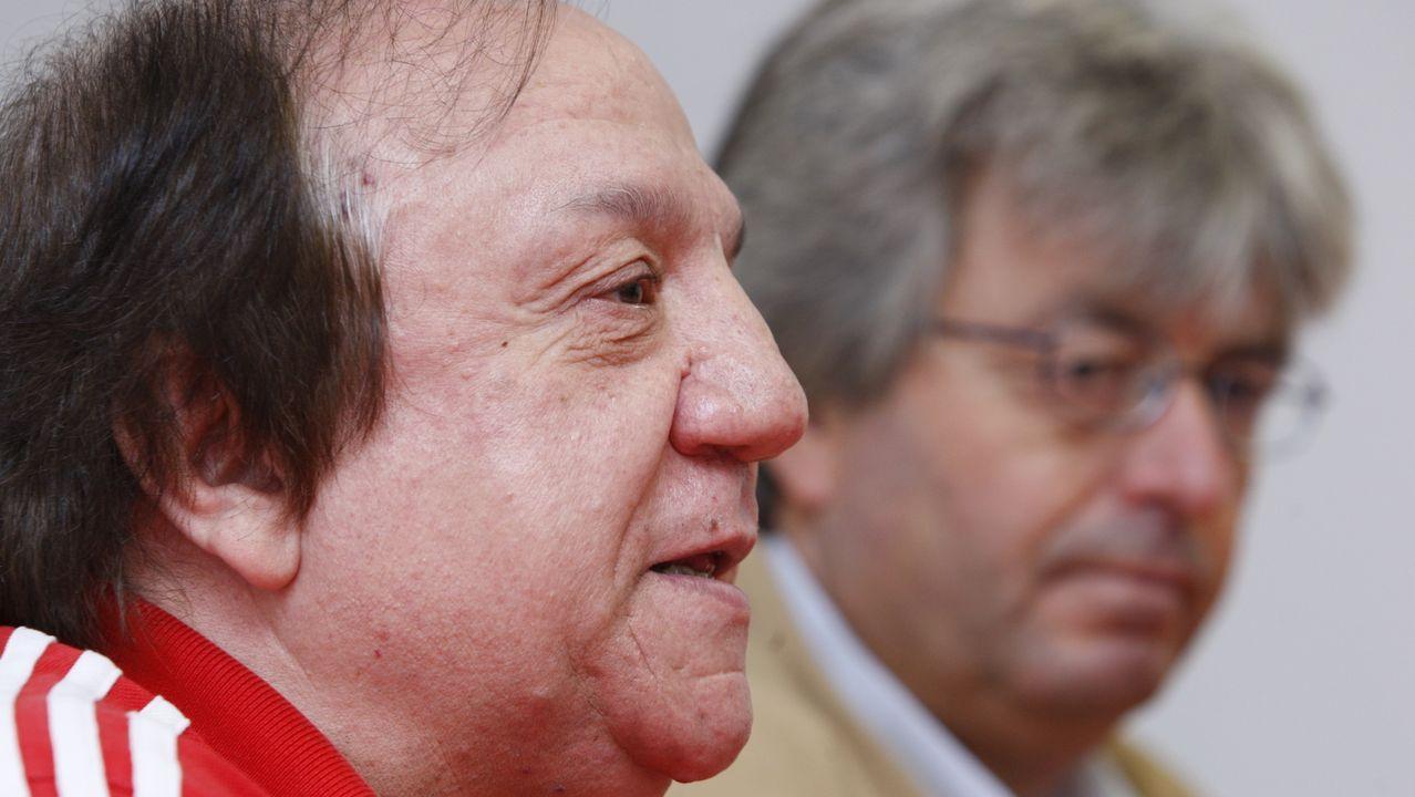 Mario Cocasar, responsable de Comisiones Obreras en la zona sur de Lugo