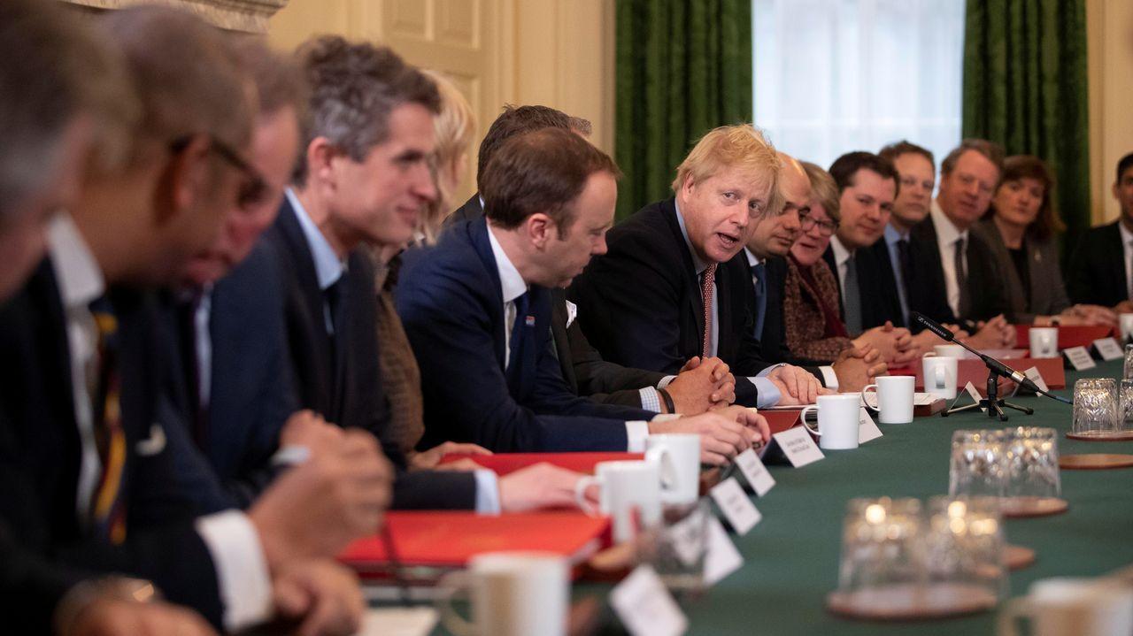 Boris Johnson parafraseó a Ronald Reagan al dirigirse a su Gobierno por primera vez tras las elecciones: «Aún no habéis visto nada».